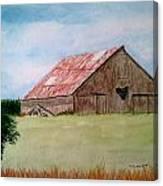 Heartland Barn Canvas Print