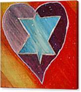 Hearts And Stars Forever Canvas Print