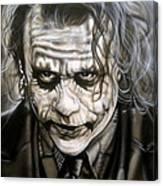 Heath Joker Canvas Print