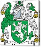 Heaton Coat Of Arms Irish Canvas Print