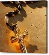 Heavenly Light Rosary  Canvas Print