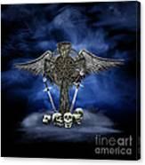 Heaven And War Canvas Print