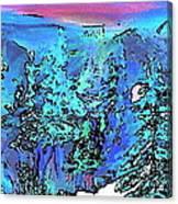 Heaven At Noon Canvas Print