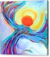 Heaven Sent Digital Art Painting Canvas Print