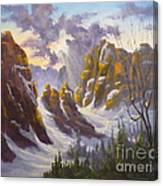 Heavenly Light Canvas Print