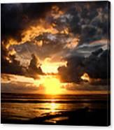 Heavenly Sunset Canvas Print