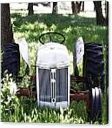 Heavenly Tractor Canvas Print