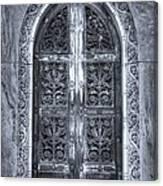 Heaven's Gate Bw Canvas Print