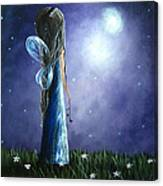 Heaven's Little Helper By Shawna Erback Canvas Print