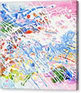 Heaven's Music Canvas Print