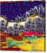 Heaven's Pavement Canvas Print