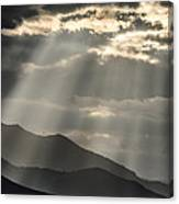 Heaven's Sunshines  Canvas Print