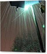 Heavy Evening Snow Canvas Print
