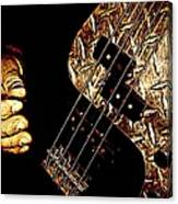 Heavy Metal Bass Canvas Print