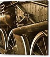 Heavy Steel Canvas Print