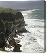Heavy Surf On The Irish Coast Canvas Print