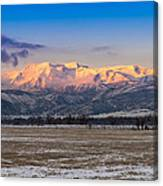 Heber Valley Sunrise Canvas Print