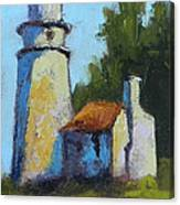 Heceta Head Light - Oregon Landscape Canvas Print