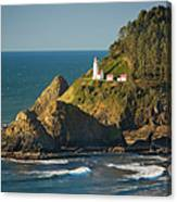 Heceta Head Lighthouse - Sunny Canvas Print