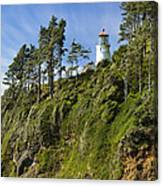 Heceta Head Lighthouse 1 A Canvas Print