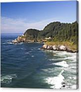 Heceta Head Lighthouse 2 A Canvas Print