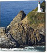 Heceta Head Lighthouse 2 F Canvas Print