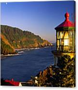 Heceta Head Moonrise Canvas Print
