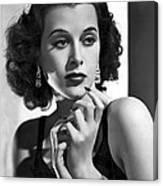 Hedy Lamarr - Beauty And Brains Canvas Print