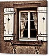 Heidelberg Window Canvas Print