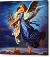 Heiliger Schutzengel  Guardian Angel 7 Oil Canvas Print