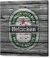 Heineken Canvas Print