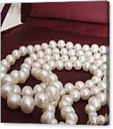 Heirloom Pearls Canvas Print