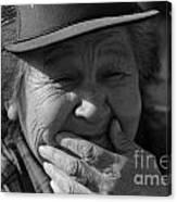 Helen The Grandmother Of Kapka Canvas Print