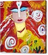 Helianna - Angel Of Divine Serenity Canvas Print