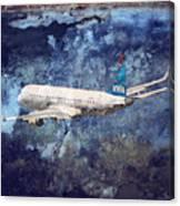Hell Of A Flight Canvas Print