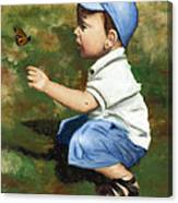Hello Butterfly Canvas Print