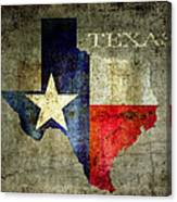 Hello Texas Canvas Print