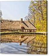Helsingborg Cottage Millhouse Canvas Print