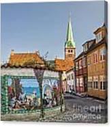 Helsingor Street Canvas Print