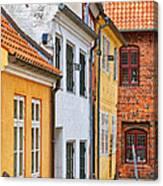 Helsingor Town Centre Canvas Print