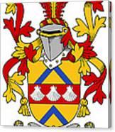 Hemphill Coat Of Arms Irish Canvas Print