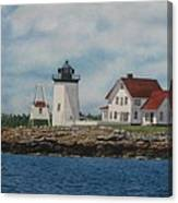 Hendricks Head Lighthouse Canvas Print