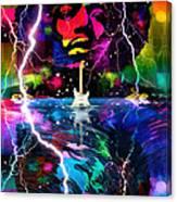 Hendrix Astro Man Canvas Print