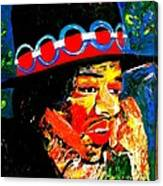 Hendrix Rocks Canvas Print