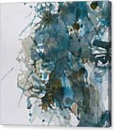 Hendrix Watercolor Abstract Canvas Print