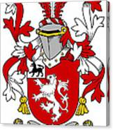 Henn Coat Of Arms Irish Canvas Print
