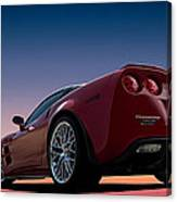 Hennessey Red Canvas Print