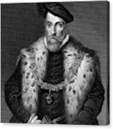 Henry Fitzalan, 12th Earl  Of Arundel Canvas Print