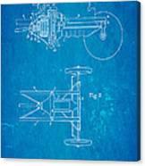 Henry Ford Transmission Mechanism Patent Art 1911 Blueprint Canvas Print