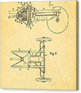 Henry Ford Transmission Mechanism Patent Art 1911 Canvas Print
